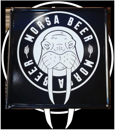 Placa Morsa Beer